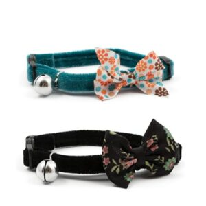 Ancol Vintage Bow Cat Collar