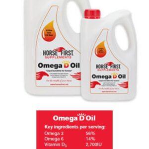 Horse First Omega 'D' Oil 2L