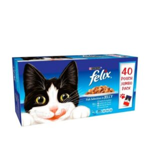 Felix Fish Selection In Jelly 40pk