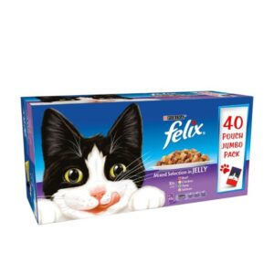 Felix Mixed Selection In Jelly 40pk