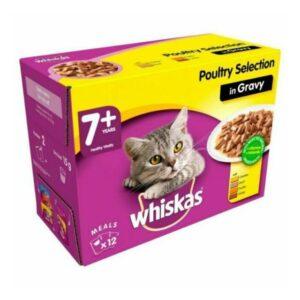 Whiskas 7+ Poultry In Gravy 12pk