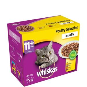Whiskas 11+ Poultry In Jelly 12pk