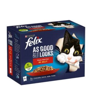 Felix As Good As It Looks –  Meaty Selection In Jelly 12pk