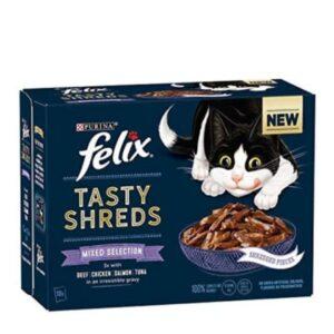 Felix Tasty Shreds – Mixed Selection 12pk