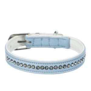Blue Active Comfort Collar With Rhinestones