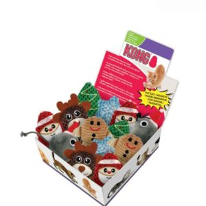 KONG Holiday Scrattles Cat Toys Assorted